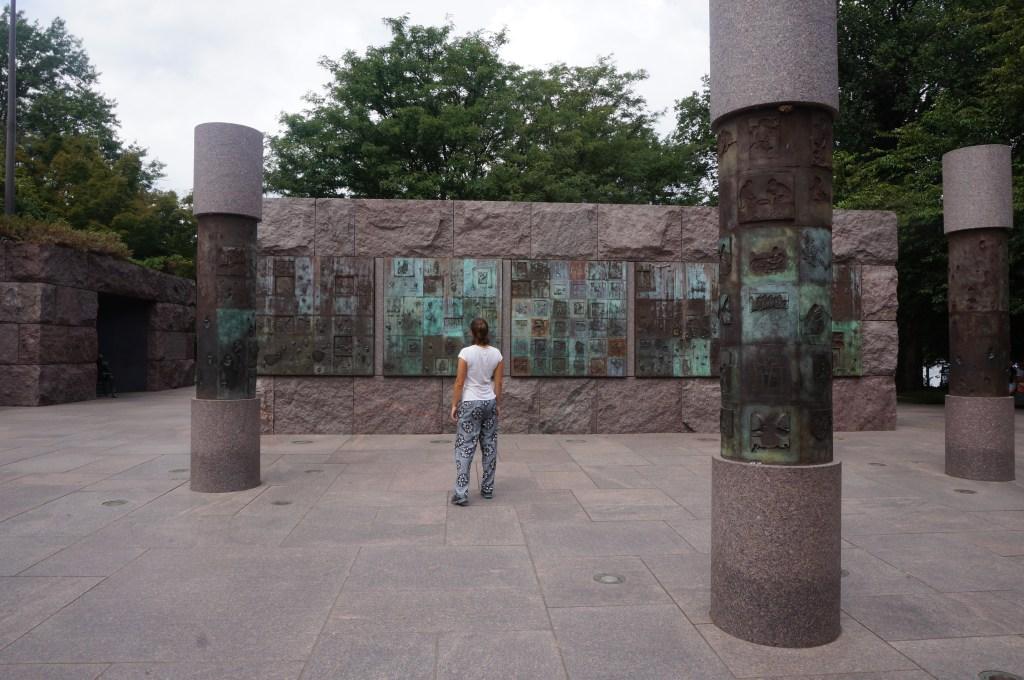 roosevelt memorial washington dc