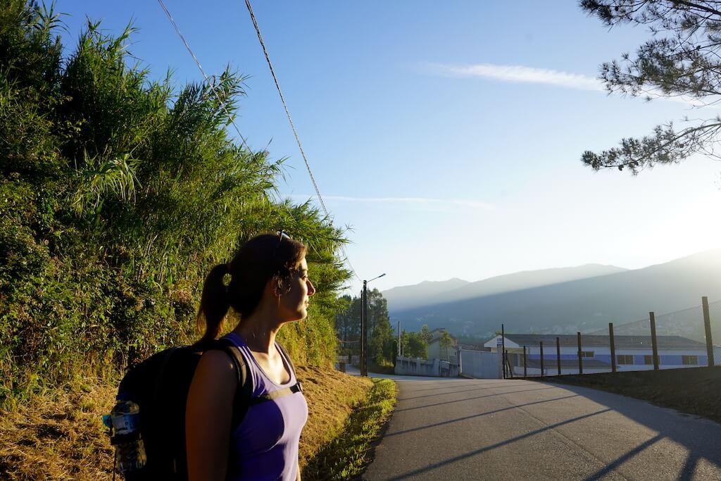 Caminho Português de Santiago: etapas desde Valença
