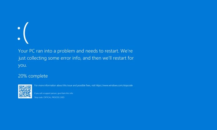 Pantallazo azul Windows post Contra Pc