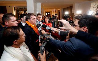 "Bolsonaro nega o ""imposto do pecado"""