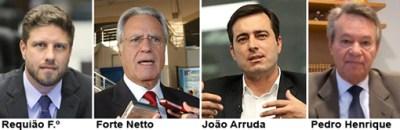 MDB coleciona 4 candidatos a prefeito de Curitiba