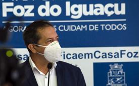 Prefeito de Foz do Iguaçu testa positivo para Covid-19