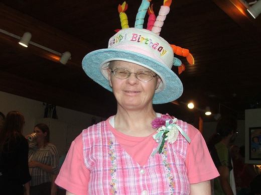 Janet Moore Birthday Hat