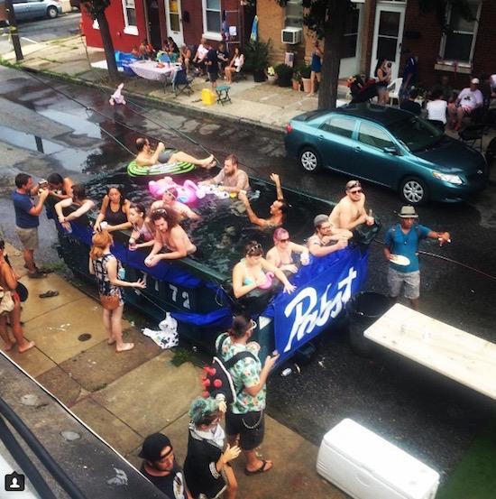 Cedar Street Block Party