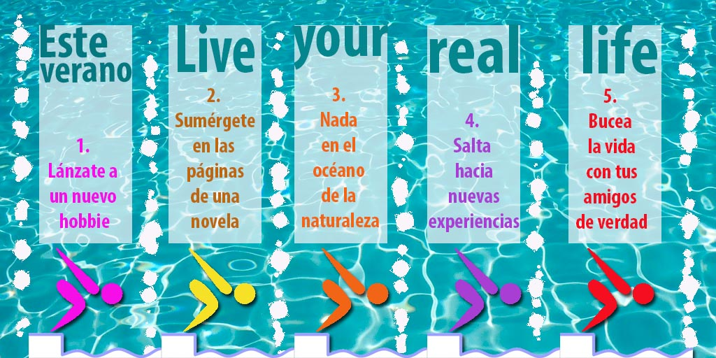 Buenos usos TIC - Live your real life