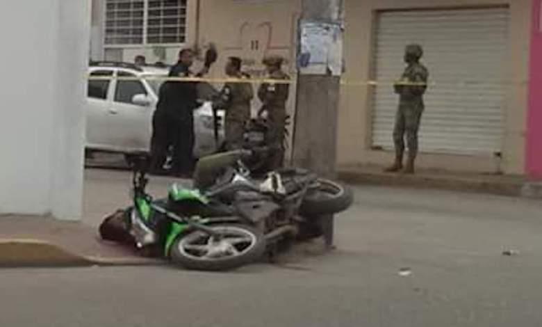 Photo of Con total impunidad homicidas abaten a motociclista