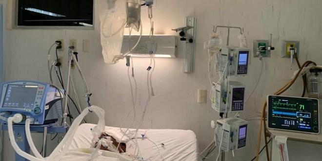 Hospitales saturados de pacientes covid-19