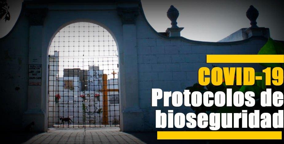 cementerios protocolos