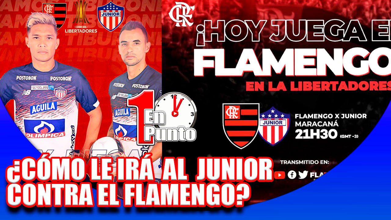 junior flamengo