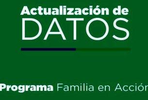 familias en accion actualizacion