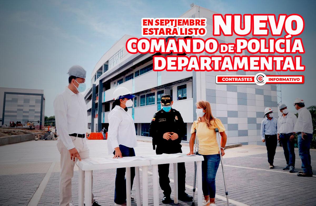 nuevo comando de policia