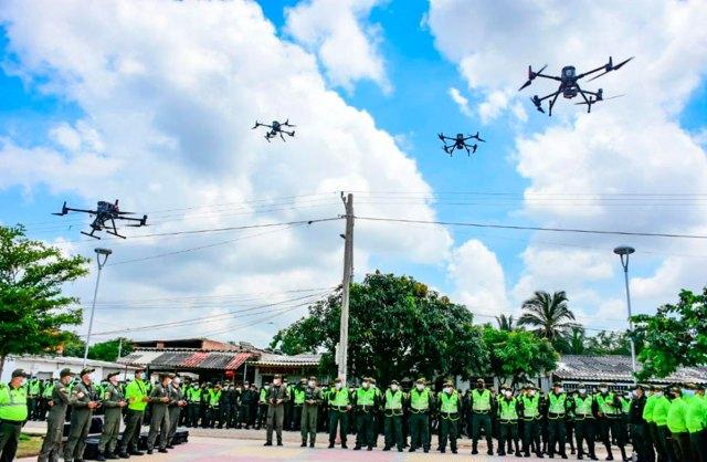drones metropoltana