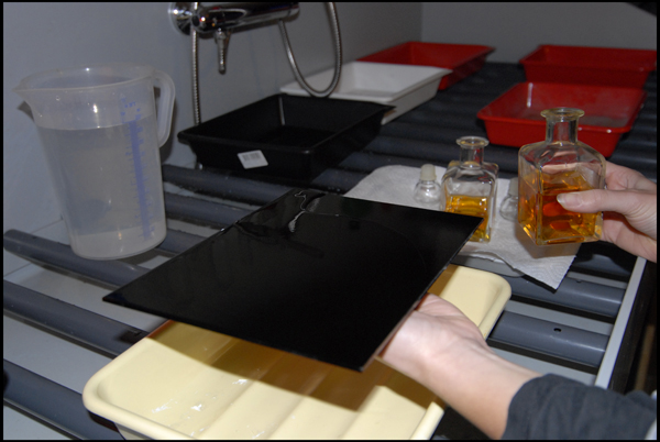 Flowing the Collodion
