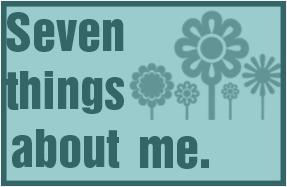 Premio Seven things about me.