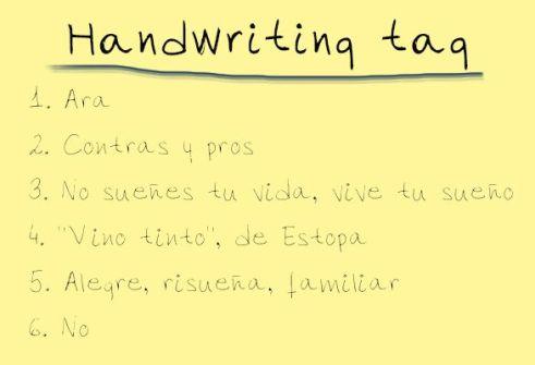 Handwriting tag_respuestas