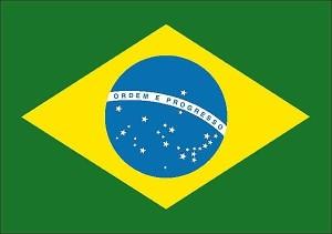 Drapeau du Brésil.