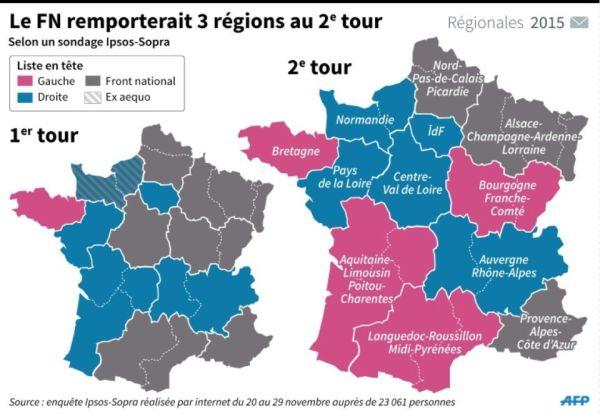 832531-carte-repartissant-les-intentions-de-vote-d-apres-un-sondage-au-1er-et-2eme-tours-par-region