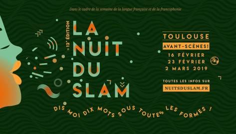 Avants-scène du festival La Nuit Du Slam