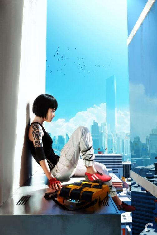 artwork van mirror's edge