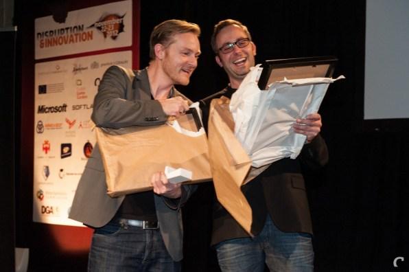 Control-oprichters Matthijs Dierckx en Eric Bartelson