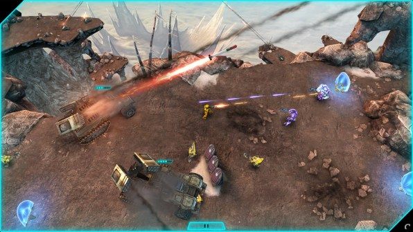 Halo Spartan Assault Screenshot - Wolverine Barrage