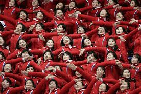 North Korea's Cheerleaders