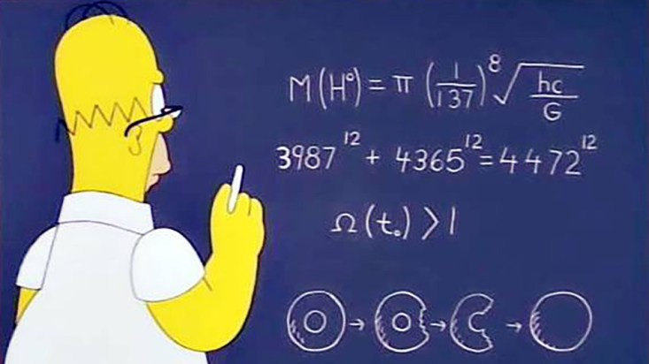 Homer Simpson scientist
