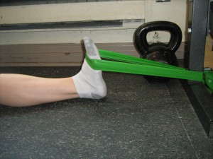 tibialis anterior training end