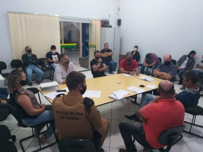 Primeira reunião do Conseg em 2021