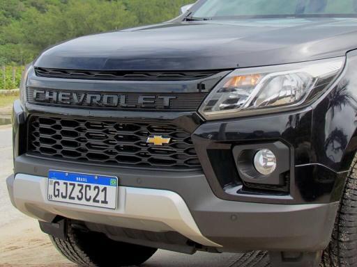 Visão frontal da Chevrolet S10 High Country