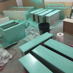 Furniture transformation in progress