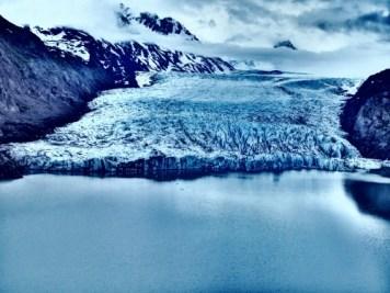 A hike up to Grewingk Glacier Lake