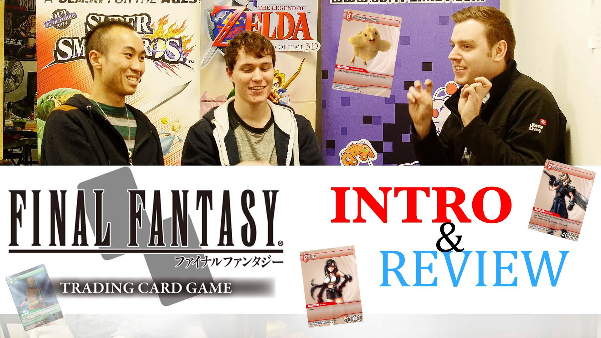 Final Fantasy TCG Video Review post image