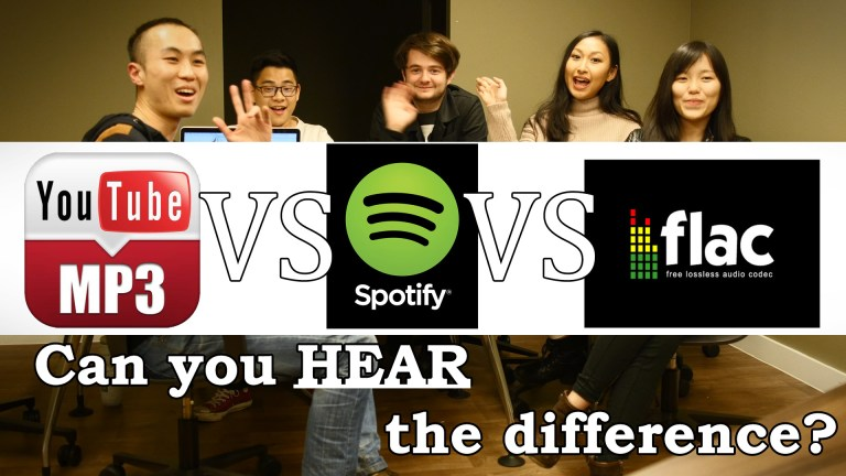 Mp3 vs FLAC listening video review post image