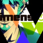 Dimension W anime review post image