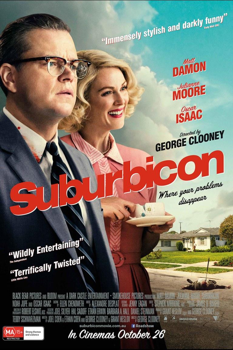 Suburbicon film review post image