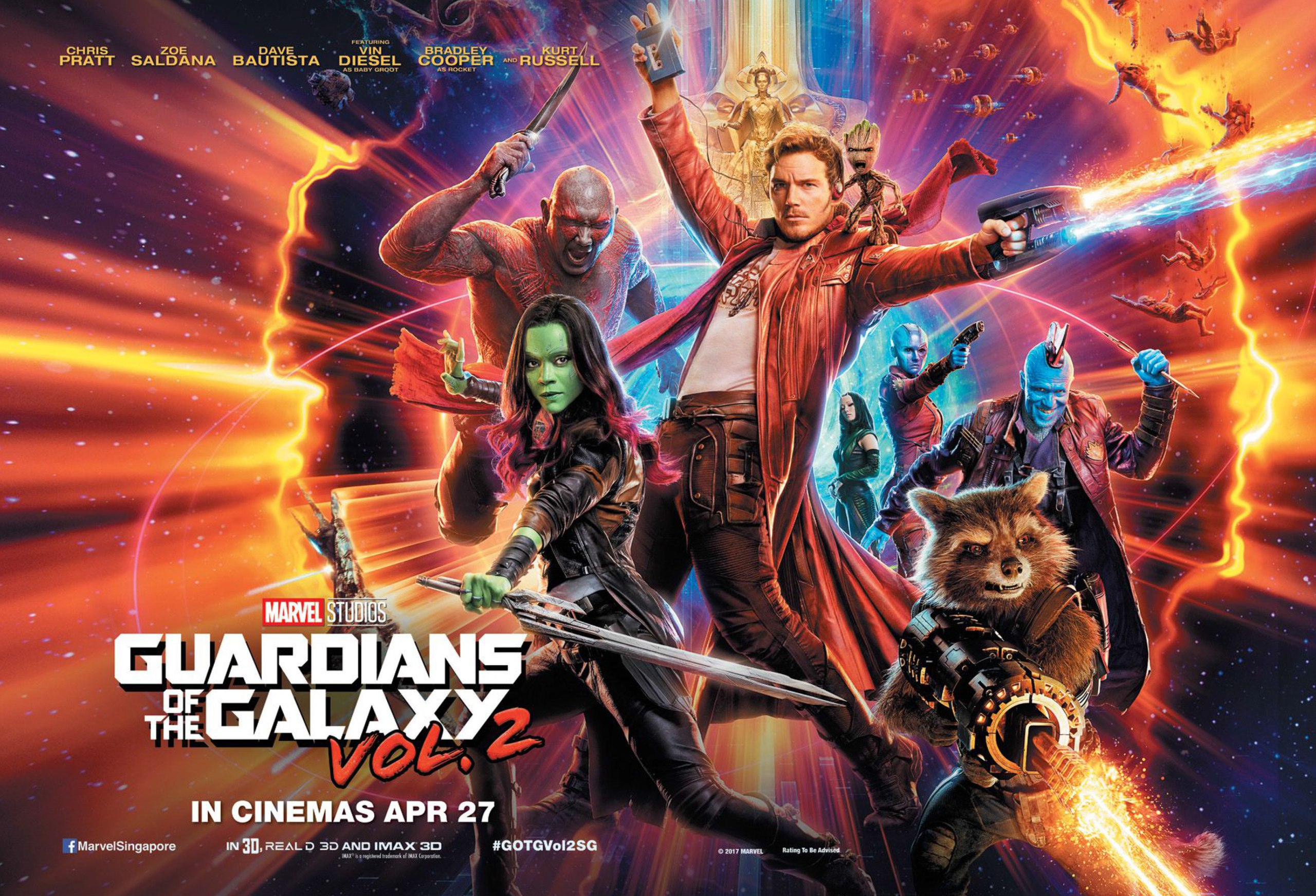 Guardians of the Galaxy Vol 2 film review post image