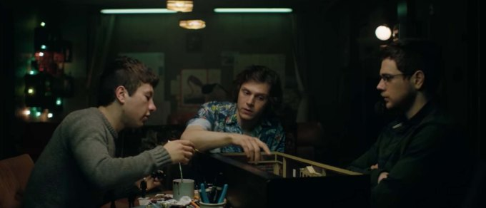 American Animals film review the heist team