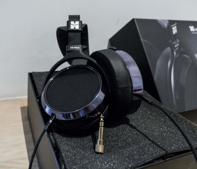 HiFiMAN he400i build quality