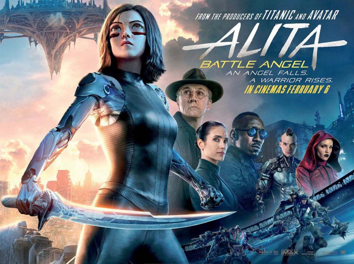 Alita: Battle Angel film review post image Controller Companies