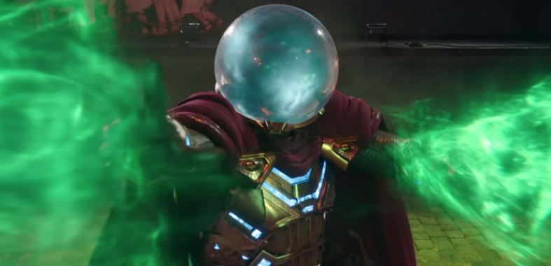 Spiderman Far From Home Film Review mysterio2