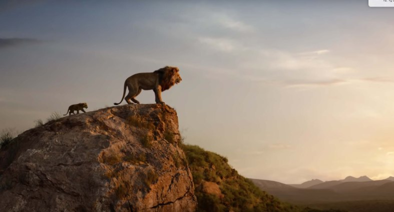 The Lion King film review father son