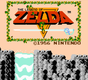The recognizable Legend of Zelda Theme began with the original game.