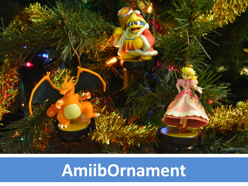 Decorate Your Christmas Tree Nintendo Style With AmiibOrnaments ...