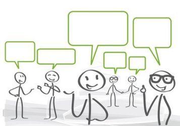 Imagenes de personas debatiendo