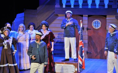 "Playing ""The Boatswain"" in HMS Pinafore"