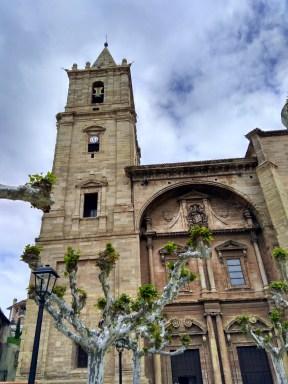 Exterior de la iglesia de Navarrete