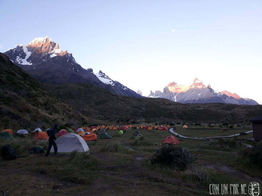 Amanecer Torres del Paine