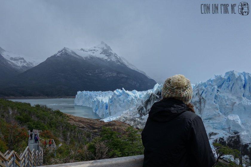 Contemplando el Perito Moreno