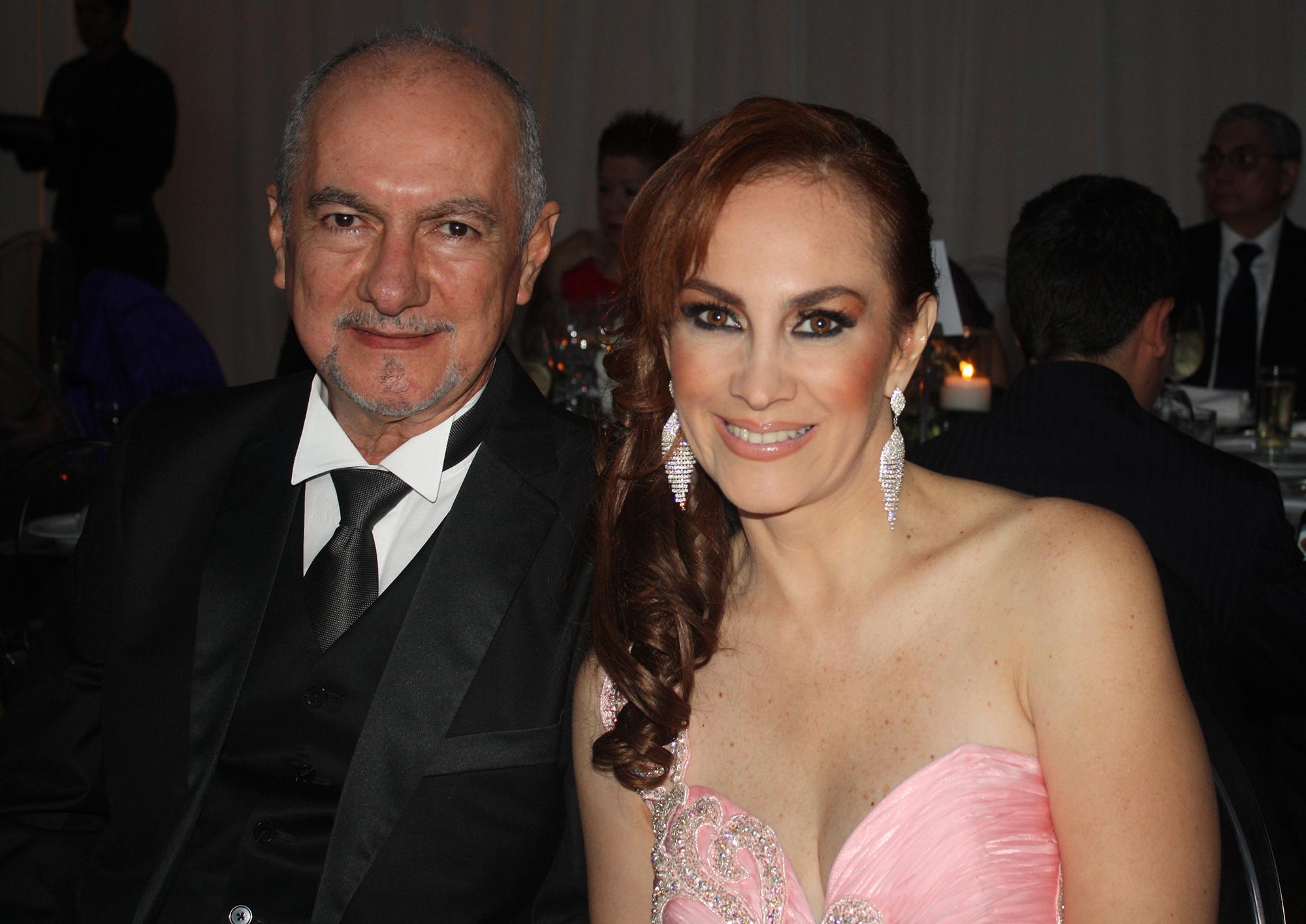 José Jorge Calderón y Karina Turrent